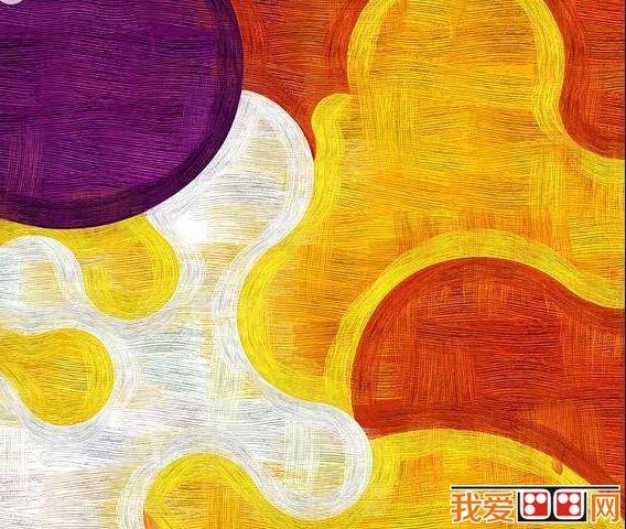 抽象派儿童画作品欣赏 2