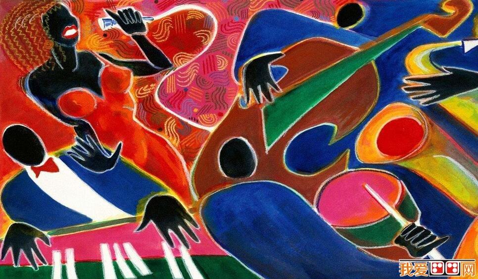 抽象派儿童画作品欣赏 5