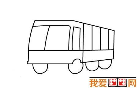 消防车简笔画教程图解教程(四)