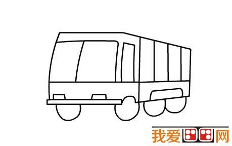 简笔画教程:消防车简笔画教程图解_儿童画教程_学画画