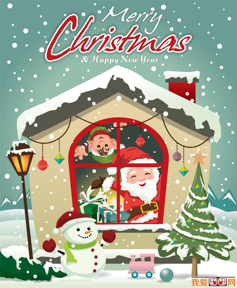 圣诞节主题可爱卡通画图片(5)