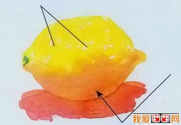 小清新柠檬水彩画教程图文详解