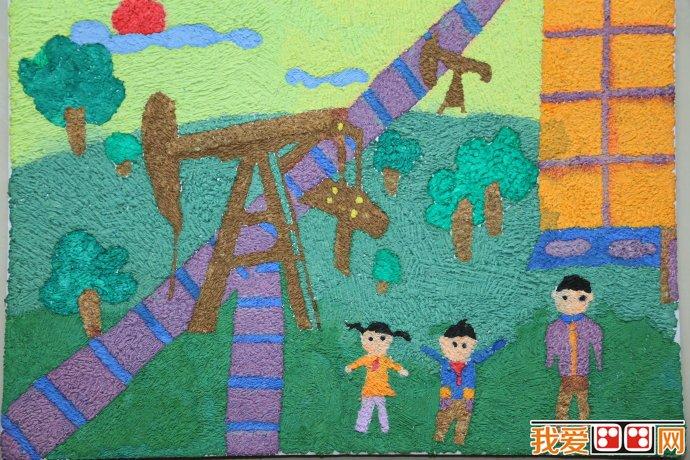 泰达少儿美术创意大赛优秀参赛作品二图片