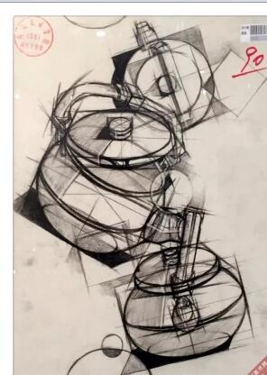 四川美术学院2015年设计素描高分试卷