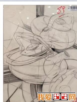 四川美术学院2015年设计素描高分试卷(2)