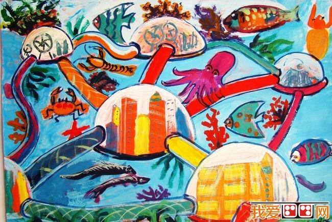 神秘的海洋世界科幻画作品欣赏(5)