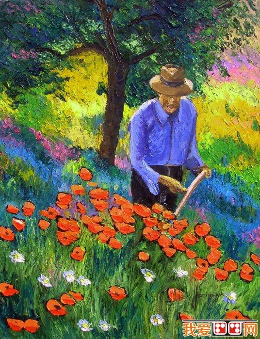 百科 世界名画 风景油画 > 法国现代画家jean-marc普罗斯旺风景油画欣