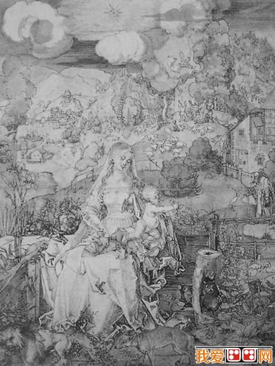 德国著名画家丢勒素描作品欣赏(6)