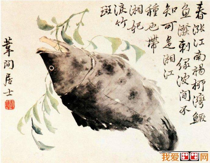 清代画家边寿民水墨画欣赏