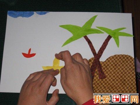 布贴画在幼儿教育中的作用