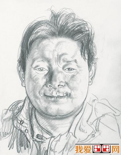 忻东旺速写人物头像作品欣赏 3