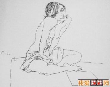 简笔画 手绘 素描 线稿 369_290