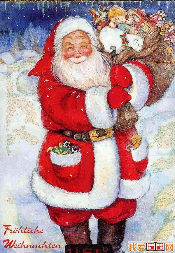 martin冬季圣诞节手绘插画作品