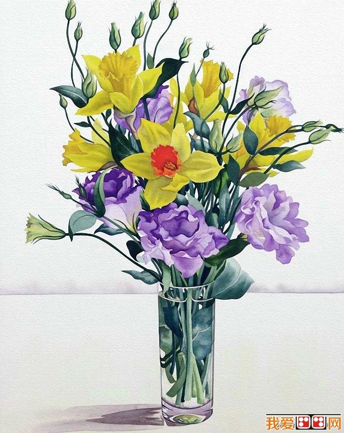 水彩花卉赏析(4)