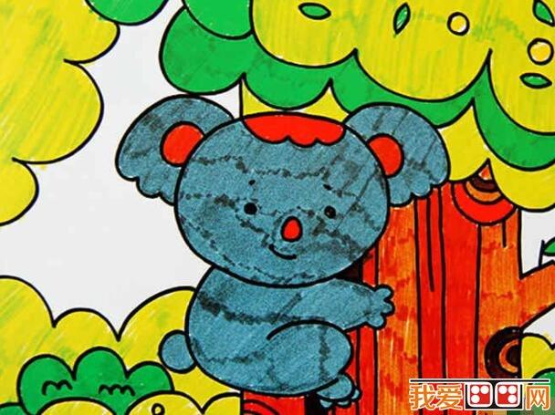 下面来看看有趣的动物世界 儿童水彩画作品欣赏.图片