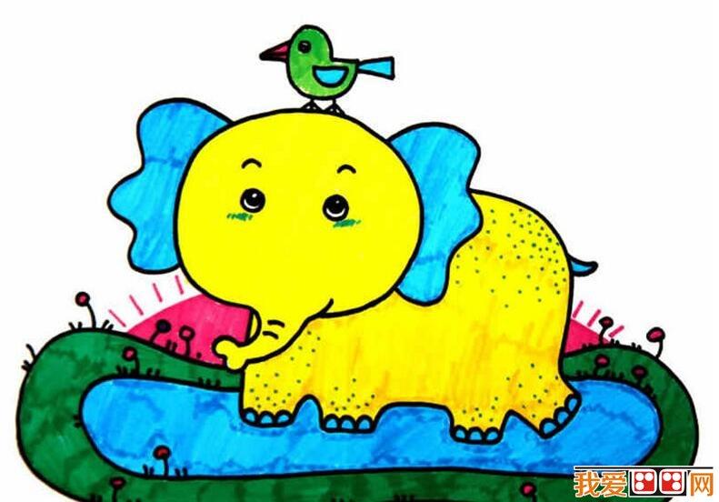 儿童水彩画教程步骤图片