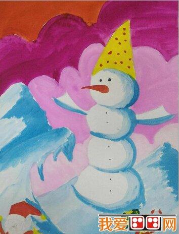 儿童圣诞节画画作品欣赏