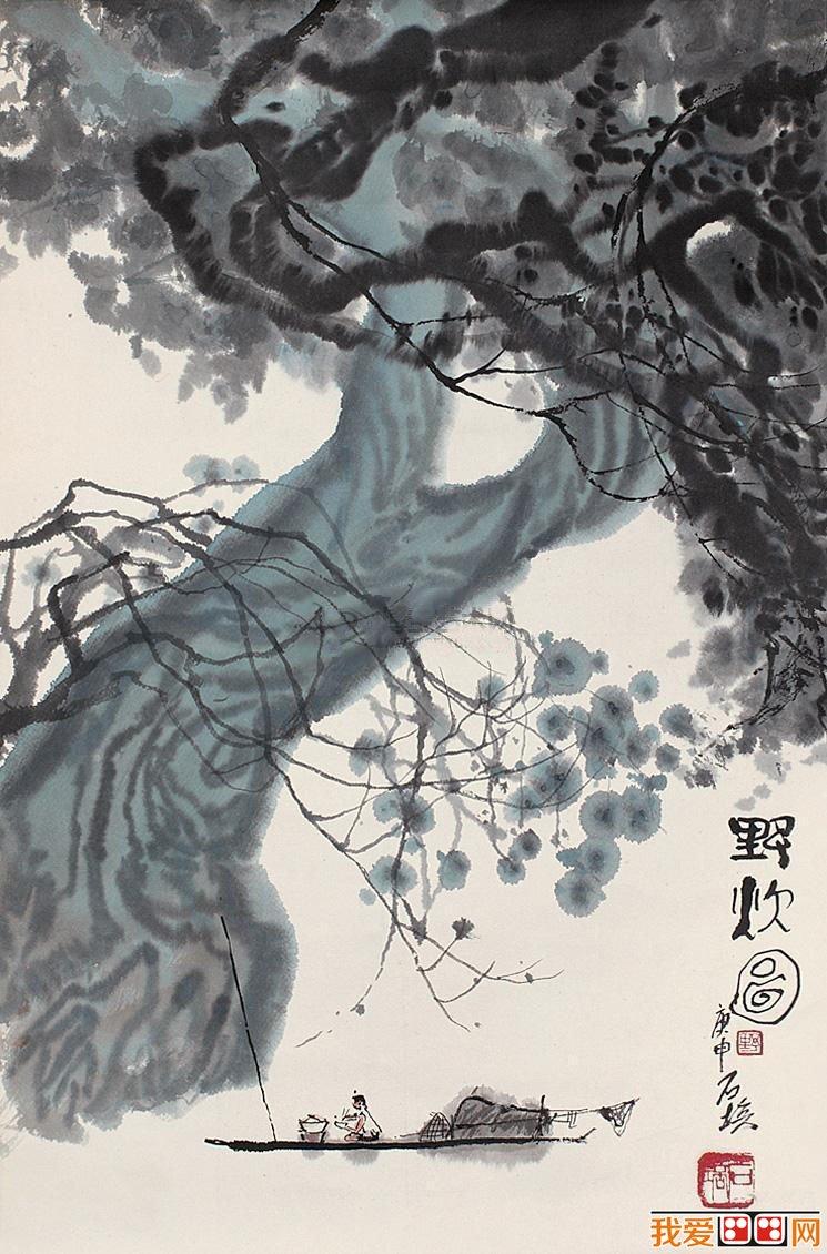 国画大师张石培:张石培水墨风景画欣赏(4)