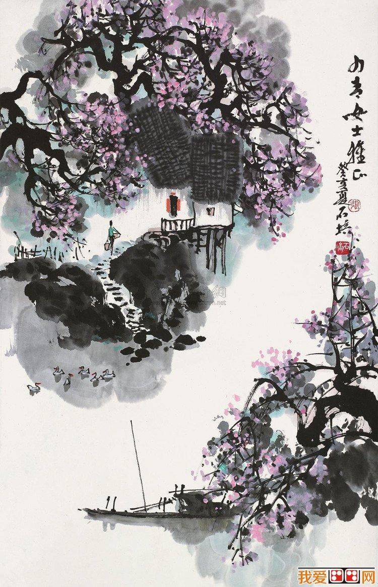 国画大师张石培:张石培水墨风景画欣赏(5)
