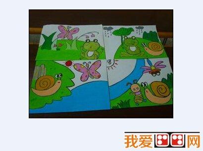 幼儿美术教学课堂设计:开始与结尾图片