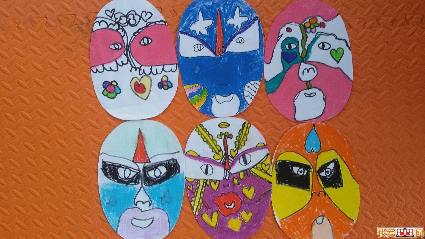 幼儿美术教育与京剧脸谱-将民族美术融入幼儿园美术教育