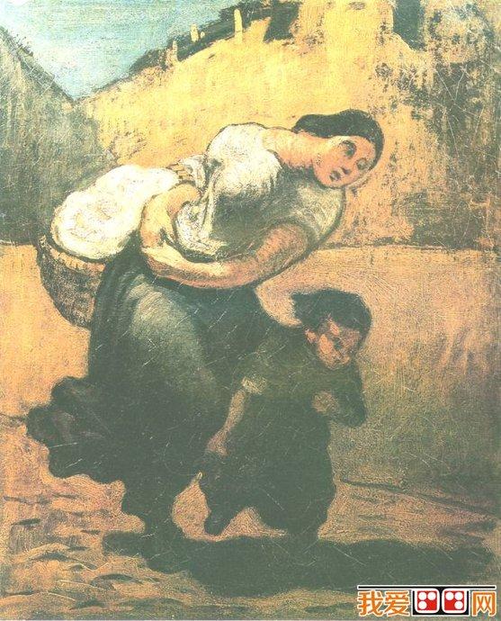 农村生活主题的现实主义绘画作品赏析(5)_世界名画