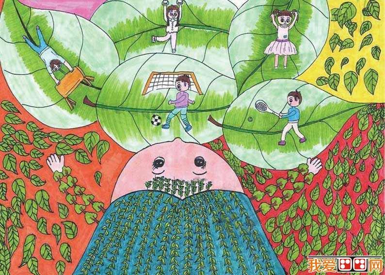儿童学习 画画可以增强孩子的想象力和创造力