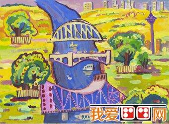 天津市第二届少儿绘画大赛获奖作品欣赏