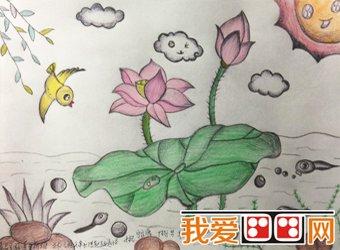 第二届少儿绘画大赛获奖作品欣赏 3图片