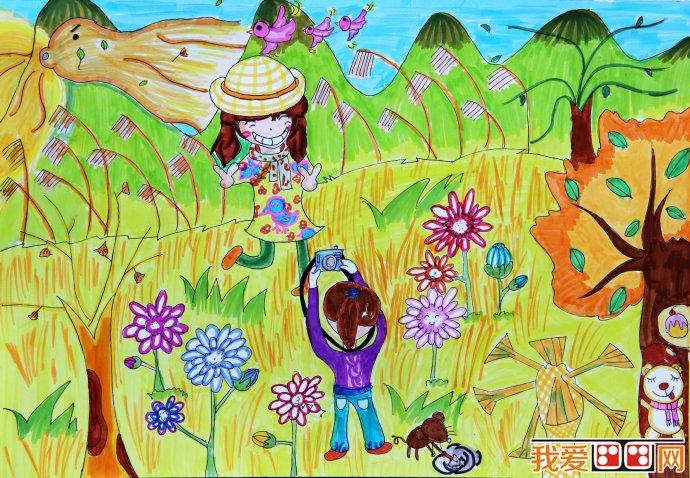幼儿学画画 > 美术活动是幼儿表达了解情感的方式      幼儿图画作品