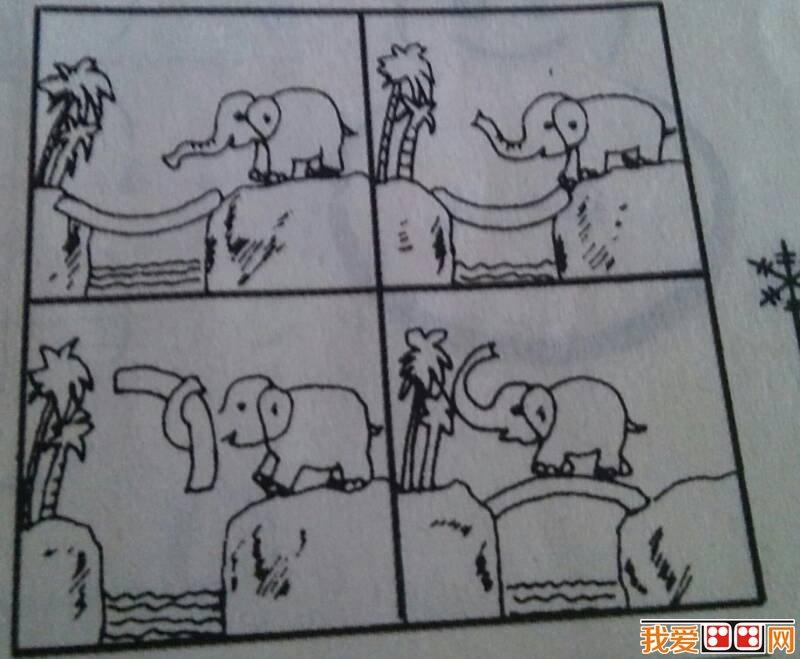 幼儿简笔画教学中要注意的问题 2