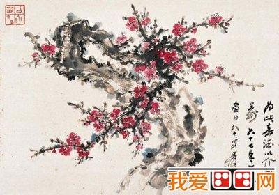 讲解国画梅花 荷花 竹的绘画技巧图片