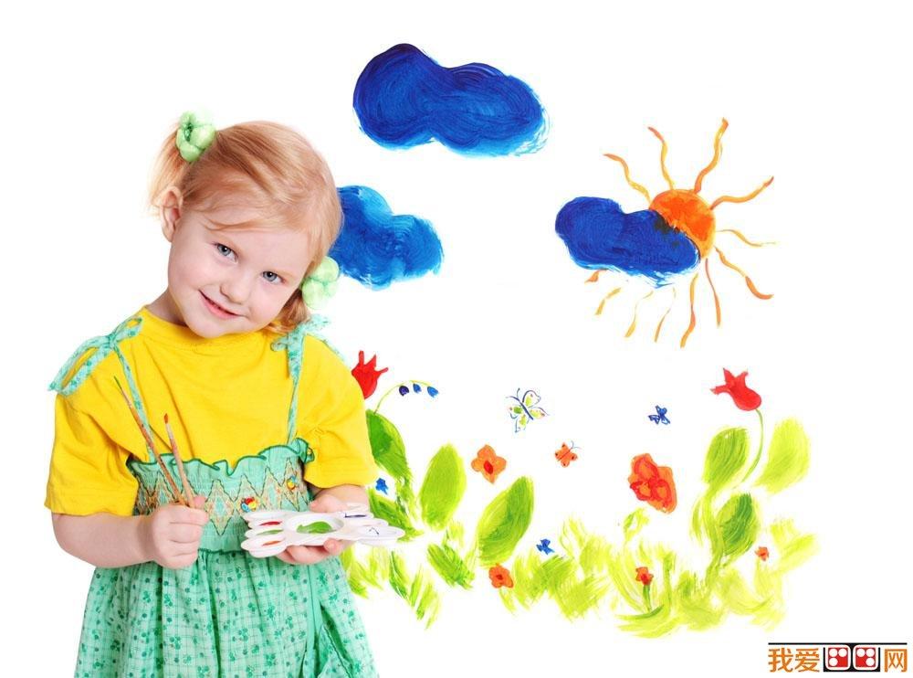 美术教育:幼儿学画画
