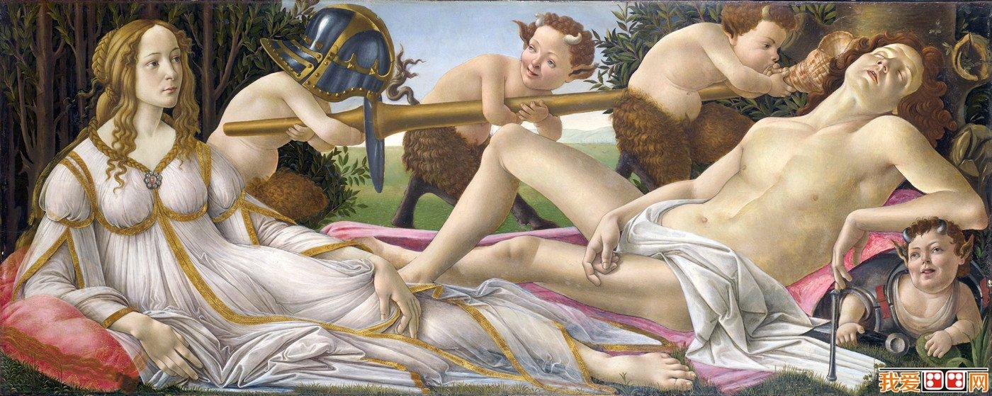 这幅画已经和《维纳斯的诞生》一起,成为波提切利一生中最著名的两幅图片