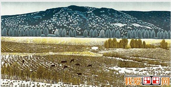 """""""中国梦-龙江情""""黑龙江风情版画作品展"""