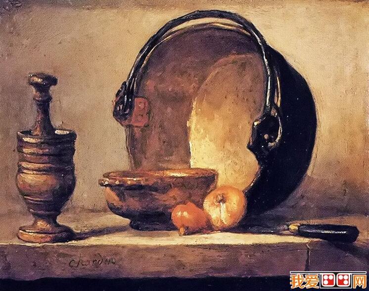 法国画家夏尔丹人物油画赏析
