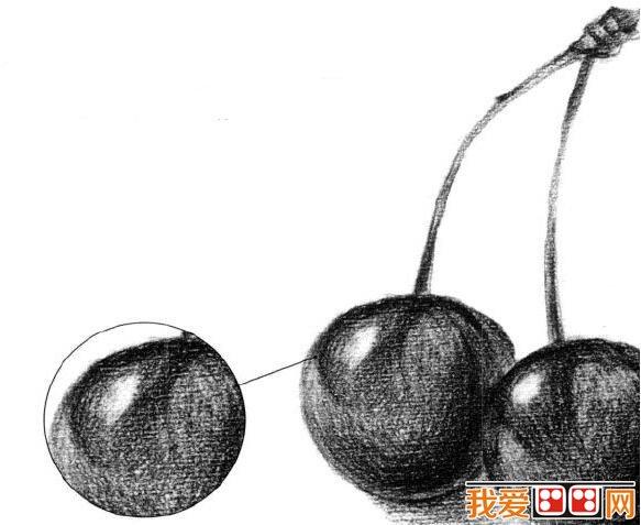 不锈钢水壶质感素描技法