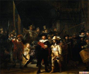 荷兰巴洛克艺术代表伦勃朗Rembrandt作品赏析
