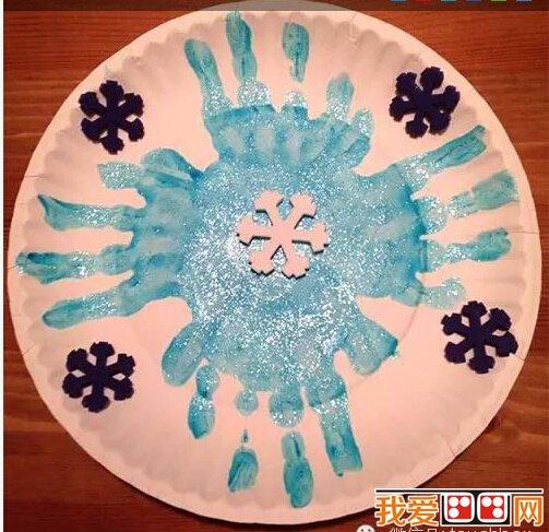 畫出雪花的形狀