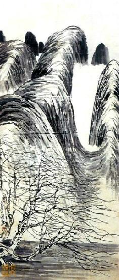 国画大师齐白石山水画欣赏(6)