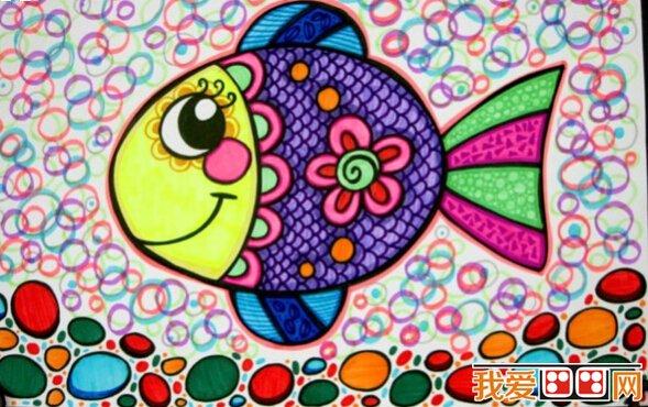 儿童画欣赏:海底世界