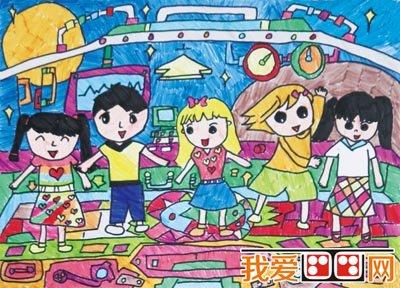 """第十七届""""天才杯""""全国儿童绘画图片"""