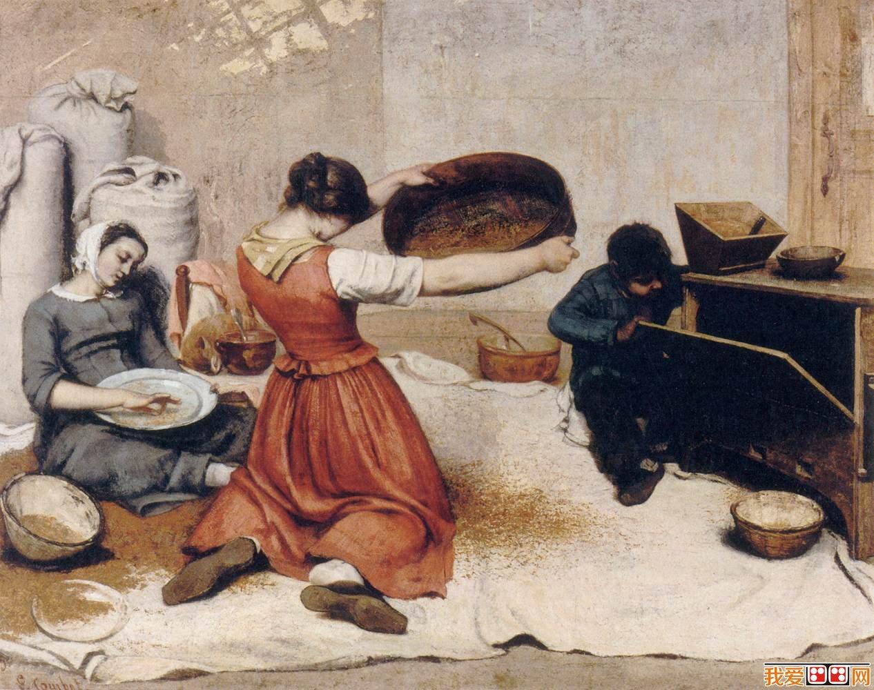 法国写实主义画家居斯塔夫·库尔贝作品赏析(2)