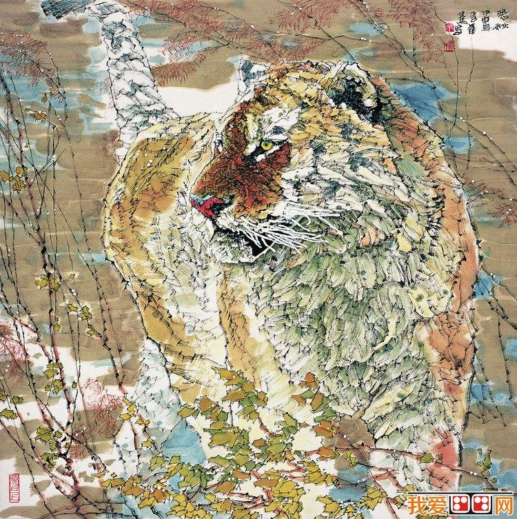 当代绘画家李蒸蒸工笔动物画作品赏析(3)