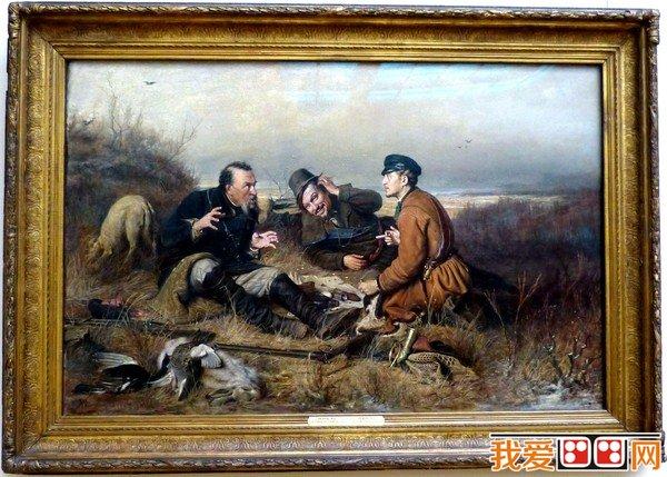 俄罗斯著名油画赏析_世界名画_百科_我爱画画网