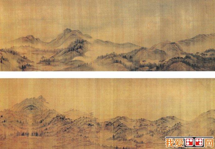 叶欣山水画:钟山图