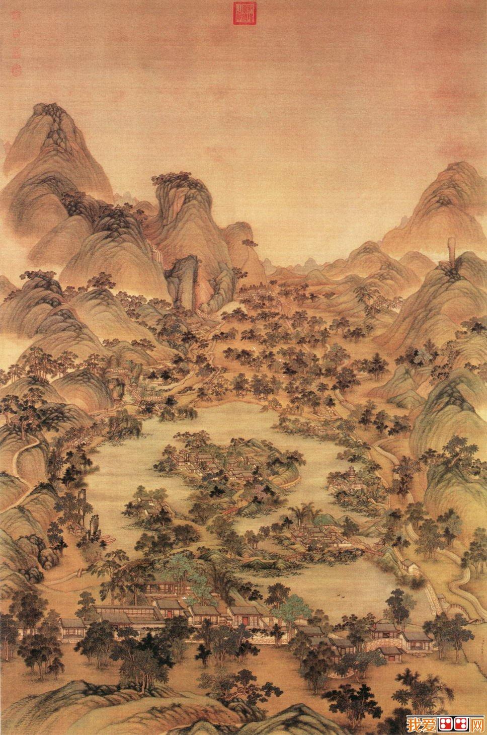 清代宫廷画家冷枚宫廷画欣赏(3)