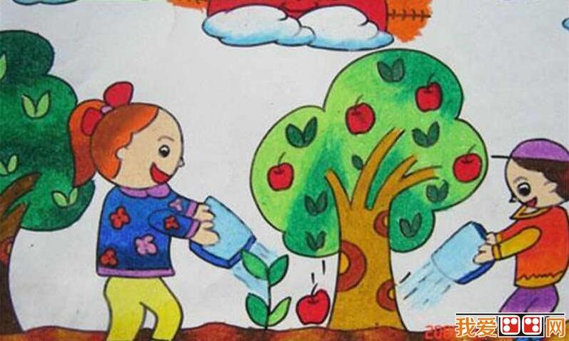 课余生活儿童画作品欣赏图片