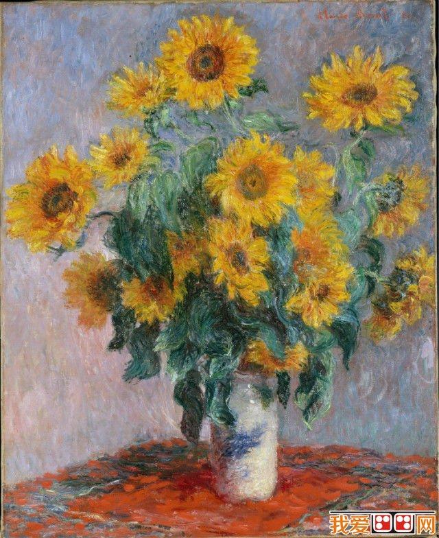 。擅长光与影的实验与表现技法。  法国印象派画家莫奈色彩静物画 他最重要的风格是改变了阴影和轮廓线的画法,在莫奈的画作中看不到非常明确的阴影,看不到突显或平涂式的轮廓线。  法国印象派画家莫奈色彩静物画 除此之外,莫奈对于色彩的运用相当细腻,他用许多相同主题的画作来实验色彩与光完美的表达。  法国印象派画家莫奈色彩静物画  法国印象派画家莫奈色彩静物画 莫奈曾长期探索光色与空气的表现效果,常常在不同的时间光线下,对同一对象作多幅的描绘,从自然的光色变幻中抒发瞬间的感觉。  法国印象派画家莫奈色彩静物画