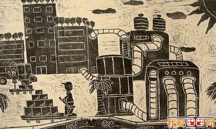 科幻画 > 海底世界儿童画科幻画作品欣赏(3)      倘若没有任何科学